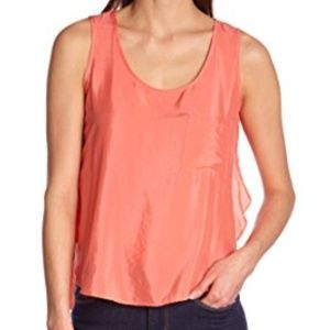 BCBGeneration Flutter Back Tank Top